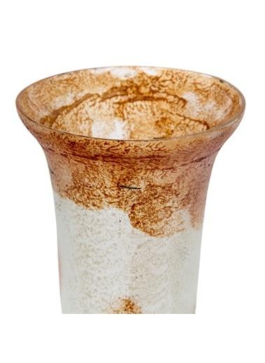 Vitale Rani Amber Krem Dekoratif Vazo Büyük Boy Renkli